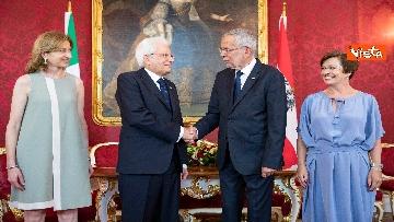 4 - Mattarella in visita di Stato in Austria