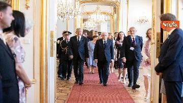 3 - Mattarella in visita di Stato in Austria