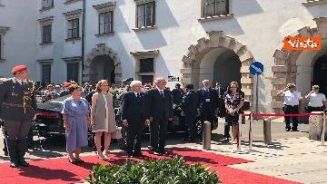 11 - Il Presidente della Repubblica Mattarella alla Hofburg di Vienna