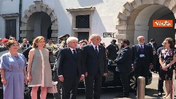 13 - Il Presidente della Repubblica Mattarella alla Hofburg di Vienna