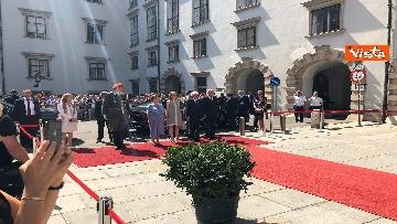 12 - Il Presidente della Repubblica Mattarella alla Hofburg di Vienna