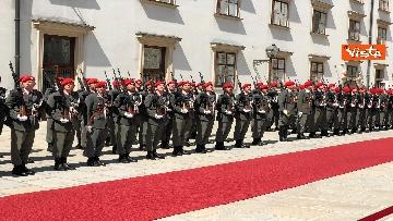 6 - Il Presidente della Repubblica Mattarella alla Hofburg di Vienna