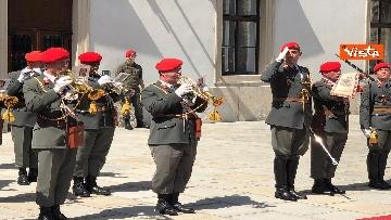 14 - Il Presidente della Repubblica Mattarella alla Hofburg di Vienna
