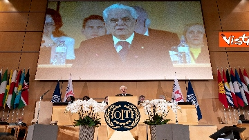 4 - Mattarella alla Sessione di Alto livello della Conferenza internazionale del lavoro