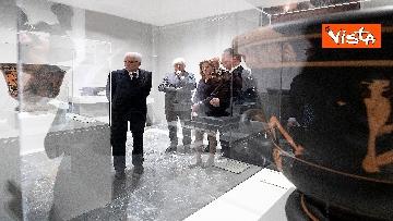 5 - Mattarella visita la mostra 'L'arte di salvere l'arte'