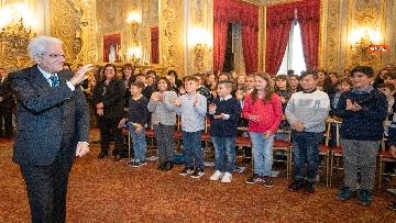 2 - Mattarella incontra un gruppo di alunni delle scuole primarie