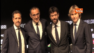 4 - La conferenza di Sarri alla Juventus