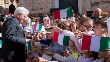 4 - Mattarella a Recanati per il bicentenario di Leopardi