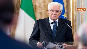 5 - Mattarella incontra al Quirinale i Presidenti di Regione