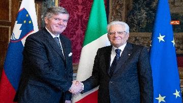 2 - Mattarella incontra i nuovi ambasciatori per la consegna delle lettere credenziali
