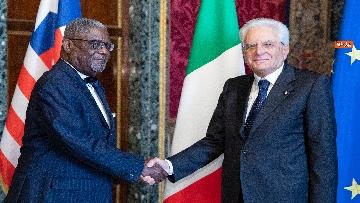 4 - Mattarella incontra i nuovi ambasciatori per la consegna delle lettere credenziali