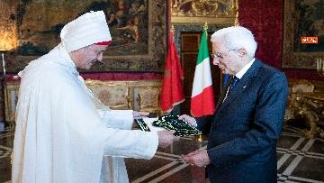 3 - Mattarella incontra i nuovi ambasciatori per la consegna delle lettere credenziali