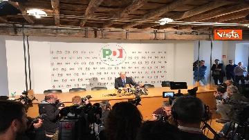 8 - La conferenza stampa del segretario PD Nicola Zingaretti dopo le elezioni europee
