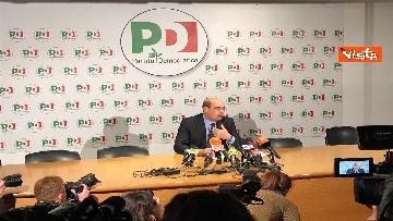9 - La conferenza stampa del segretario PD Nicola Zingaretti dopo le elezioni europee