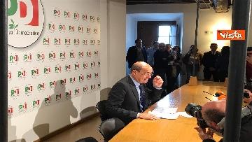13 - La conferenza stampa del segretario PD Nicola Zingaretti dopo le elezioni europee
