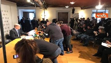 12 - La conferenza stampa del segretario PD Nicola Zingaretti dopo le elezioni europee