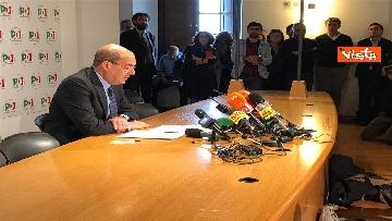 14 - La conferenza stampa del segretario PD Nicola Zingaretti dopo le elezioni europee