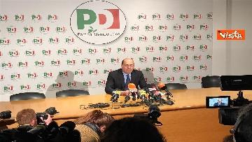 7 - La conferenza stampa del segretario PD Nicola Zingaretti dopo le elezioni europee
