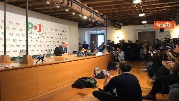 3 - La conferenza stampa del segretario PD Nicola Zingaretti dopo le elezioni europee