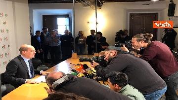 2 - La conferenza stampa del segretario PD Nicola Zingaretti dopo le elezioni europee