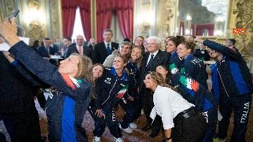 5 - Mattarella incontra gli atleti azzurri del nuoto