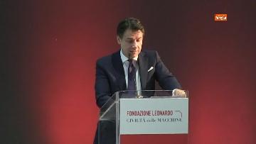 4 - Conte all'inaugurazione della fondazione Leonardo