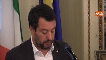 6 - Salvini e Fontana alla sottoscrizione dell'accordo riguardante la promozione della Sicurezza Integrata