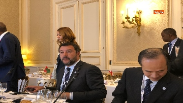 1 - Salvini in Francia per il G7 dei Ministri degli Interni