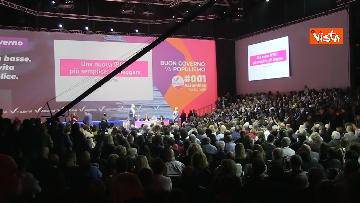 3 - Renzi chiude l'assemblea di Italia Viva