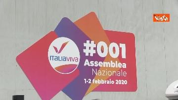 2 - Renzi chiude l'assemblea di Italia Viva