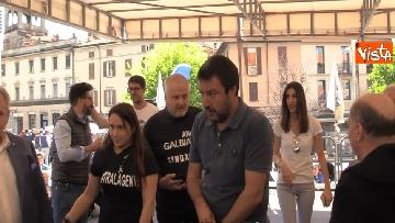 5 - Il comizio di Salvini a Cantù