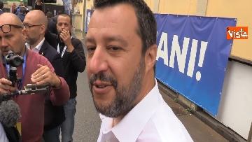 3 - Salvini in conferenza stampa dopo i risultati delle elezioni europee