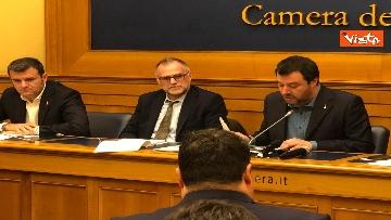 1 - La conferenza di Salvini alla Camera dei Deputati