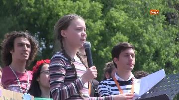 2 - Greta Thunberg alla manifestazione per il clima a Roma