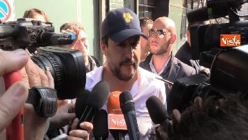 4 - L'incontro a Milano tra Salvini e E. Bolsonaro