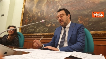 1 - La conferenza di Salvini e Locatelli alla Camera dei Deputati