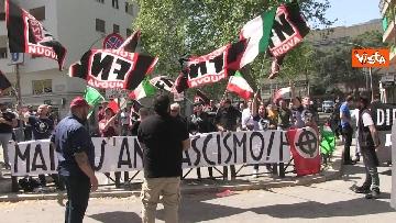 6 - Il sit-in contro l'antifascismo di Forza Nuova