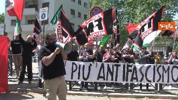 9 - Il sit-in contro l'antifascismo di Forza Nuova