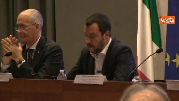 1 - Salvini alla presentazione della Mercurio App della Polizia di Stato