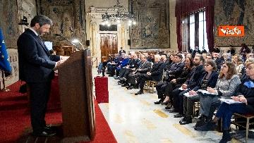 1 - Mattarella alla presentazione del rapporto dell'autorità garante dei diritti dei detenuti