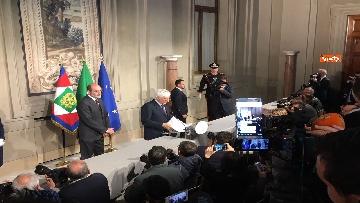 1 - Mattarella conferisce a Giuseppe Conte l'incarico di formare il Governo
