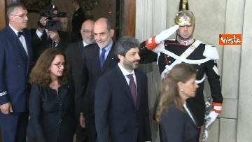 1 - Fico e Casellati al Quirinale per le Consultazioni con il Presidente della Repubblica Mattarella
