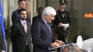 1 - Giuseppe Conte presenta la lista dei Ministri