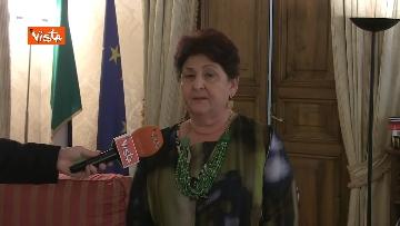 9 - L'intervista del Ministro dell'Agricoltura Teresa Bellanova all'Agenzia Vista