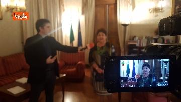 10 - L'intervista del Ministro dell'Agricoltura Teresa Bellanova all'Agenzia Vista
