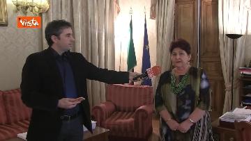 7 - L'intervista del Ministro dell'Agricoltura Teresa Bellanova all'Agenzia Vista