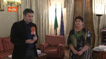 5 - L'intervista del Ministro dell'Agricoltura Teresa Bellanova all'Agenzia Vista