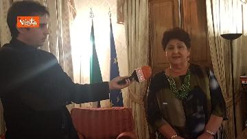 11 - L'intervista del Ministro dell'Agricoltura Teresa Bellanova all'Agenzia Vista