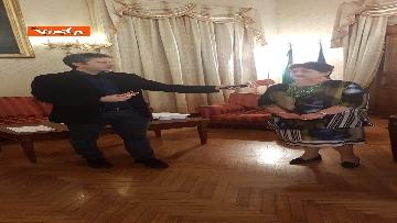 12 - L'intervista del Ministro dell'Agricoltura Teresa Bellanova all'Agenzia Vista