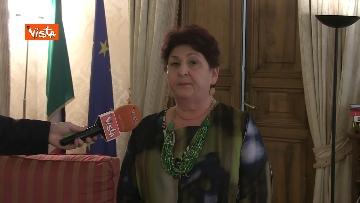 8 - L'intervista del Ministro dell'Agricoltura Teresa Bellanova all'Agenzia Vista